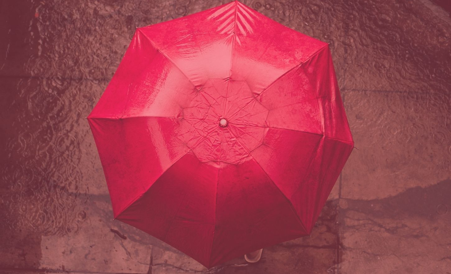 Red umbrella - Got You Covered - Managed Services - Infront